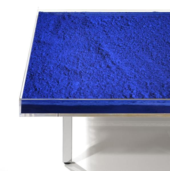 Table Blue Klein by Yves Klein