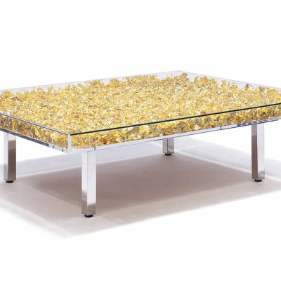 Table Monogold By Yves Klein Guy Hepner