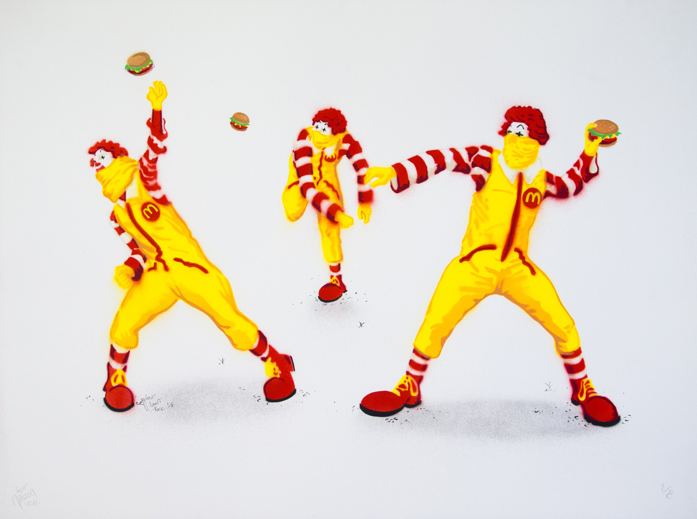 Riot Ronalds by Herr Nilsson