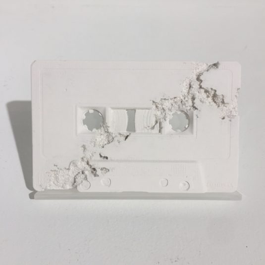 Future Relic 04 Cassette Tape by Daniel Arsham