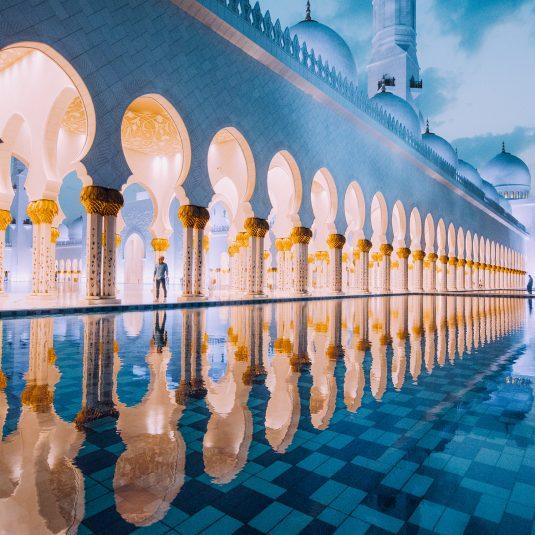 Palace, Abu Dhabi by Jacob Riglin