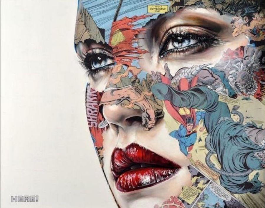 La Cage, Ici! by Sandra Chevrier