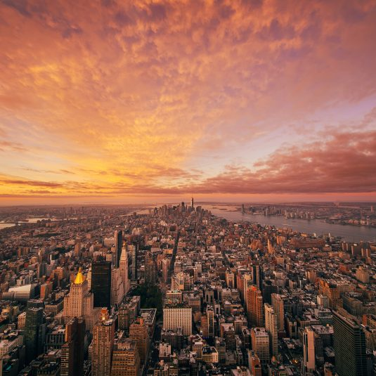 NYC Sunset by Jacob Riglin