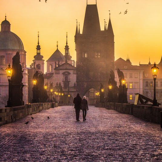 Charles Bridge, Prague by Jacob Riglin