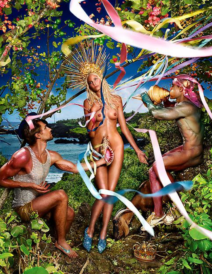 Rebirth of Venus by David LaChapelle