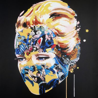 The Cage, Dark Heart (Black) by Sandra Chevrier