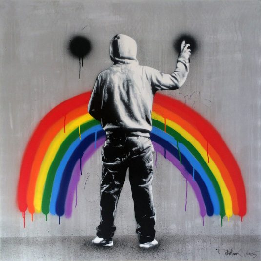 Unhappy Rainbow by Martin Whatson