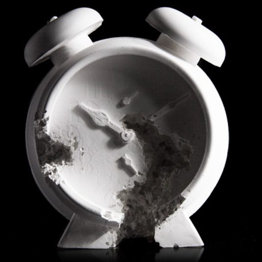Future Relic 03 Clock by Daniel Arsham