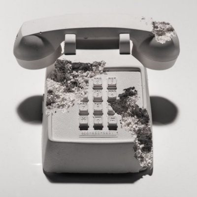 Future Relic 05 Telephone by Daniel Arsham
