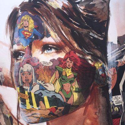 la Cage aux 1001 Visages by Sandra Chevrier