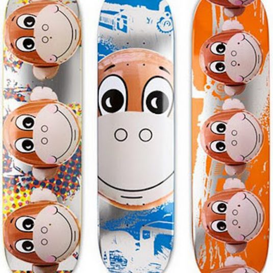 Jeff Koons, Skateboard Deck, Three