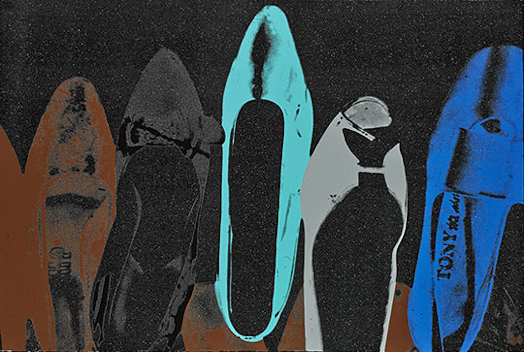 Diamond Dust Shoes 257 by Andy Warhol
