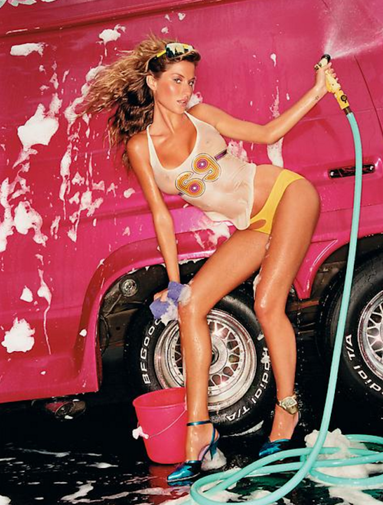 Pink Van Hose Up by David LaChapelle