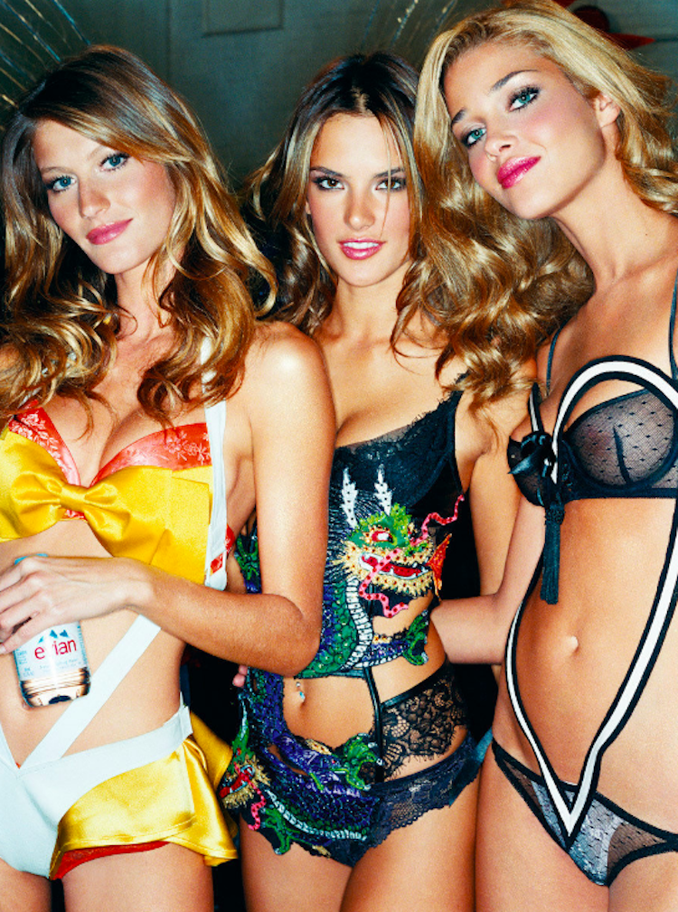 Gisele and Angels Backstage by Gavin Bond