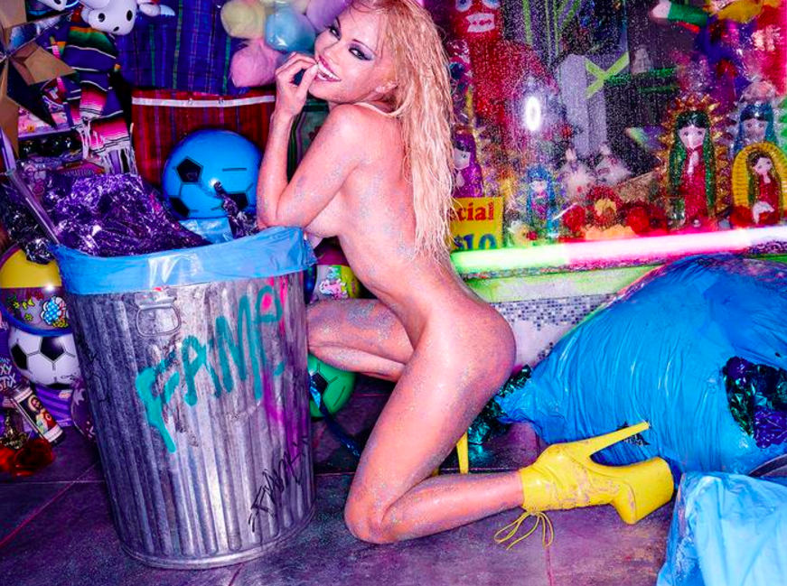 Pamela Anderson Califuk by David LaChapelle