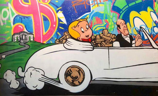 Chauffeur Richie by Alec Monopoly