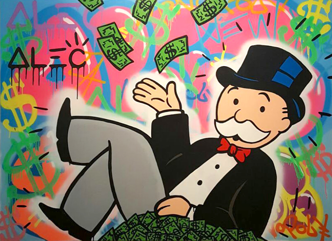 bae241287fee Alec Monopoly Paintings and Sculptures for Sale