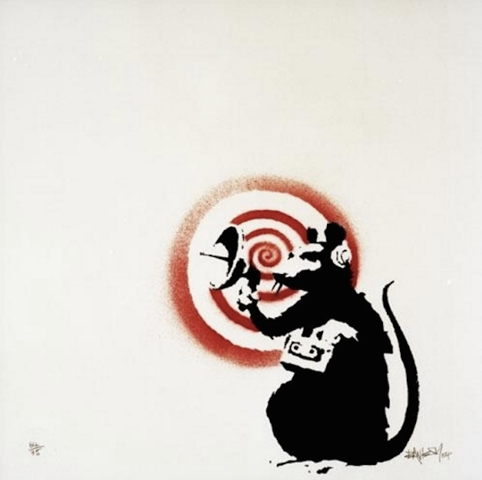 Radar Rats by Banksy