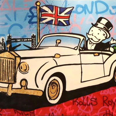Rolls Royal Monopoly by Alec Monopoly