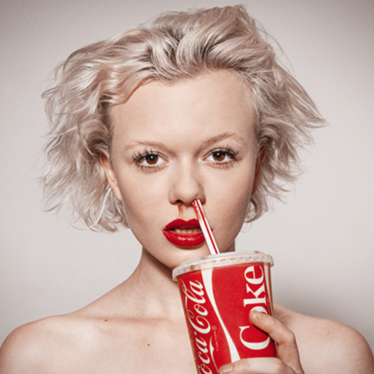 COKE by Tyler Shields
