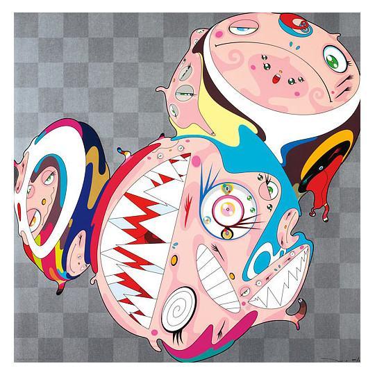 Melting DOB D by Takashi Murakami
