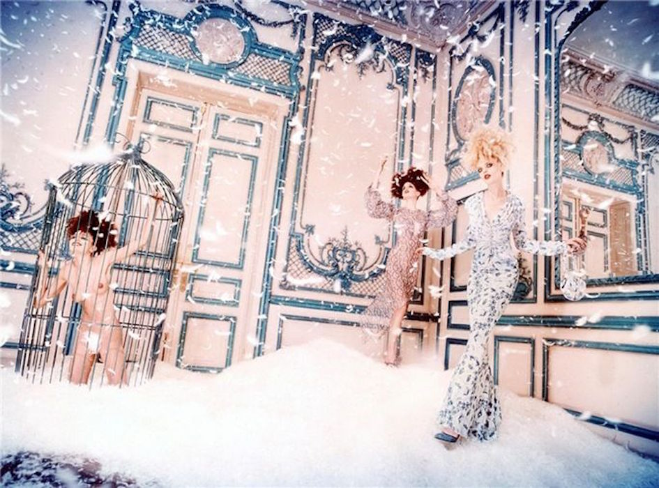 Room of Feathers by David LaChapelle