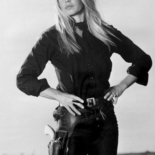 Brigitte Bardot in Les Petroleuses by Terry O'Neill