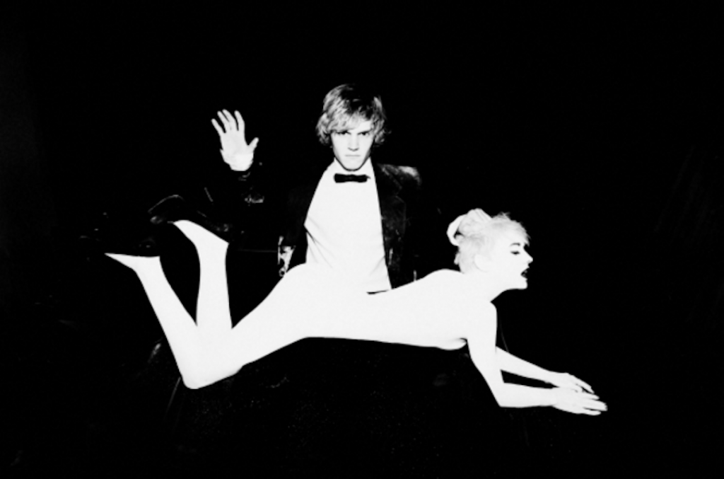 Evan Peters and Chebo by Tyler Shields