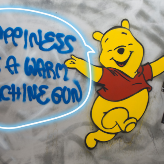Happiness is a Warm Machine Gun by Herr Nilsson