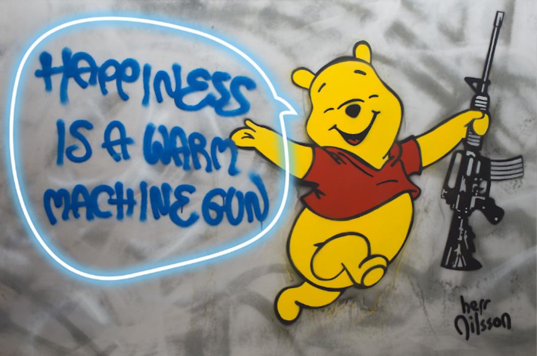 Happiness is a Warm Machine Gun by Herr Nilsson