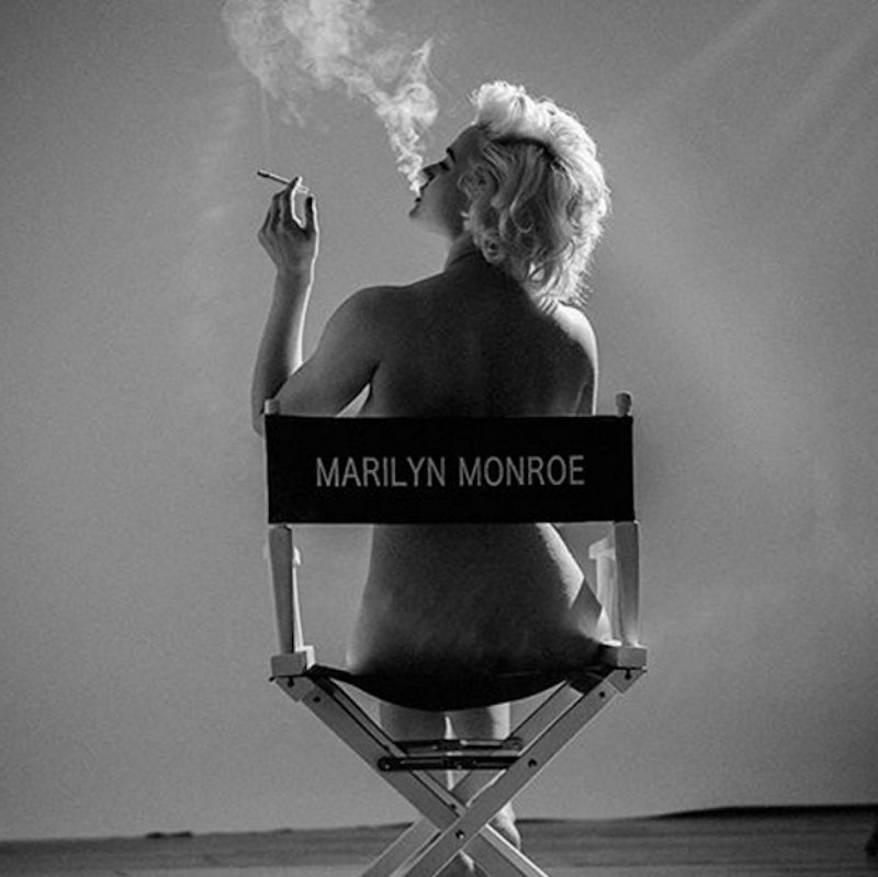 Marilyn Monroe on Set 1961 by Tyler Shields