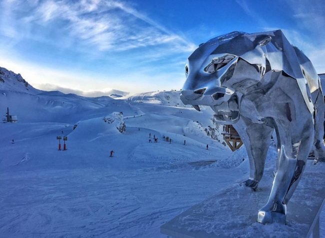 Panther by Richard Orlinski