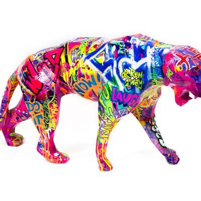 Pop Panther by Richard Orlinski