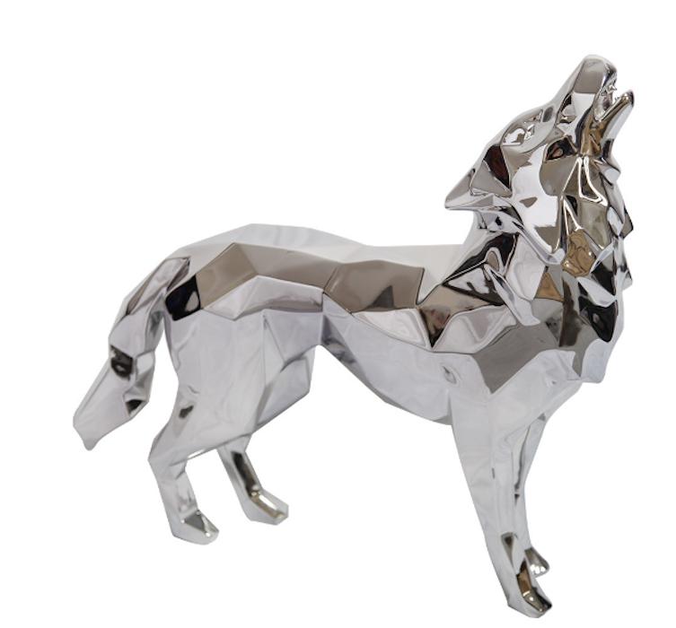 Howling Wolf by Richard Orlinski