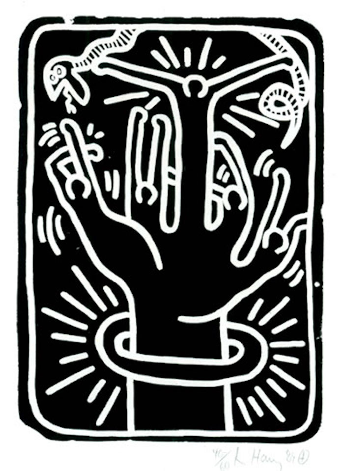Stones #2 by Keith Haring