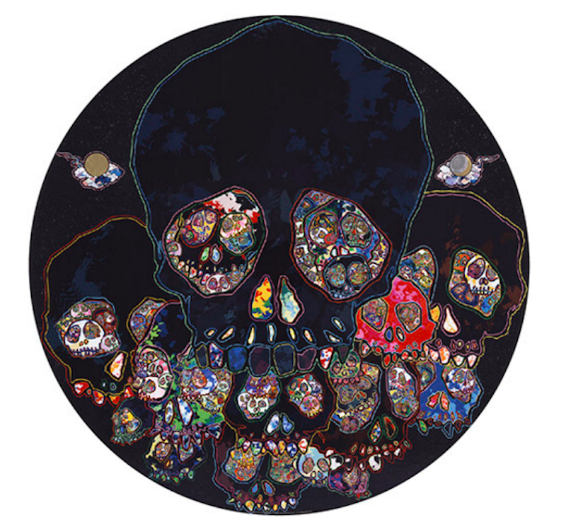 The Moon Over the Ruined Castle by Takashi Murakami