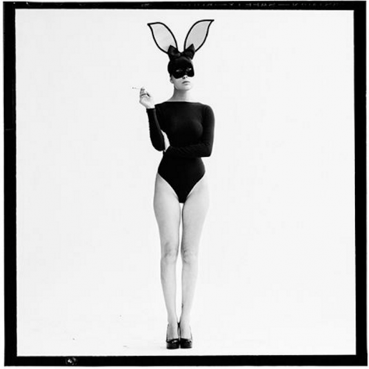 The Smoking Bunny by Tyler Shields