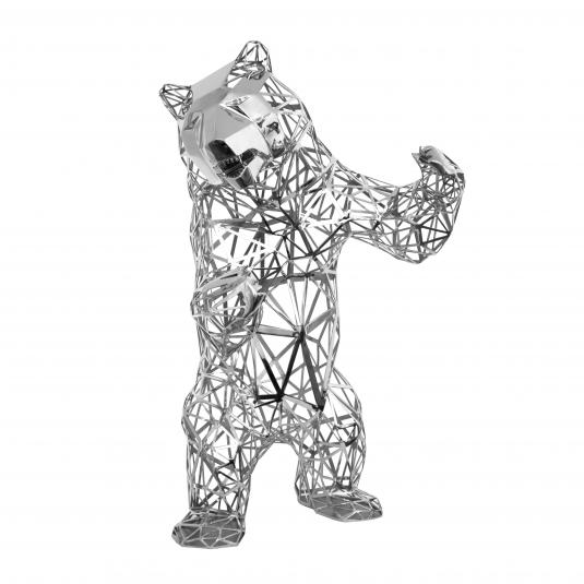Lace Bear by Richard Orlinski