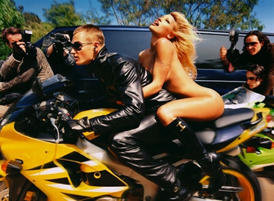 Pamela Anderson: Faster, Faster by David LaChapelle