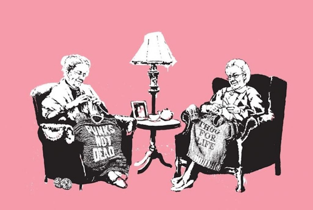 Grannies by Bansky