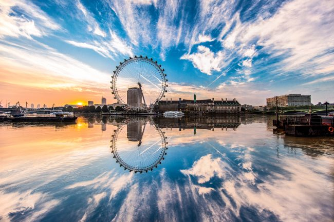 London Eye by Jacob Riglin