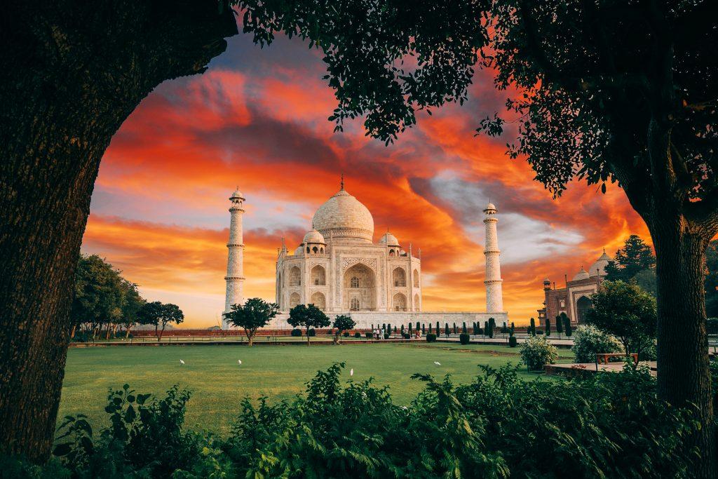 Taj Mahal, India by Jacob Riglin