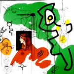 Apocalypse 9 by Keith Haring