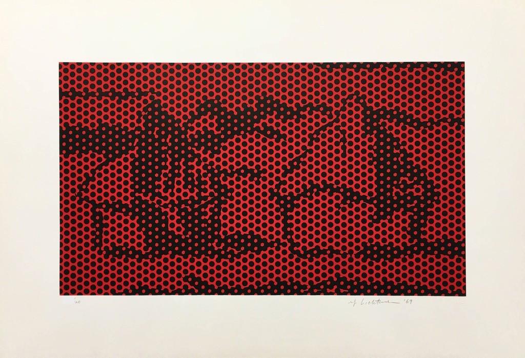 Haystack #6 by Roy Lichtenstein