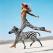 Jamie Rishar Giraffe Jumping by Michel Comte