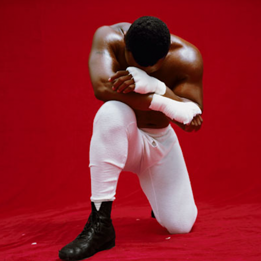 Mike Tyson Red by Michel Comte