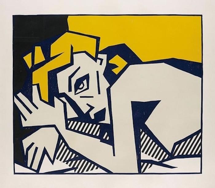 Reclining Nude by Roy Lichtenstein