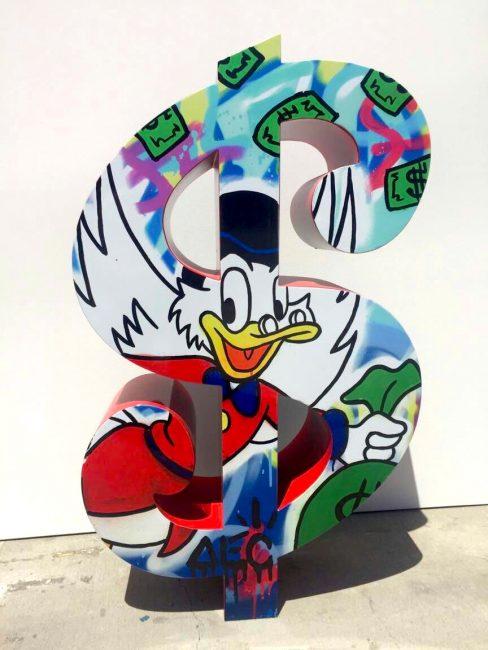 Scrooge Red Dollar by Alec Monopoly.JPG