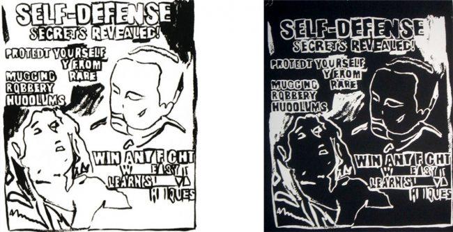 Self Defense by Andy Warhol