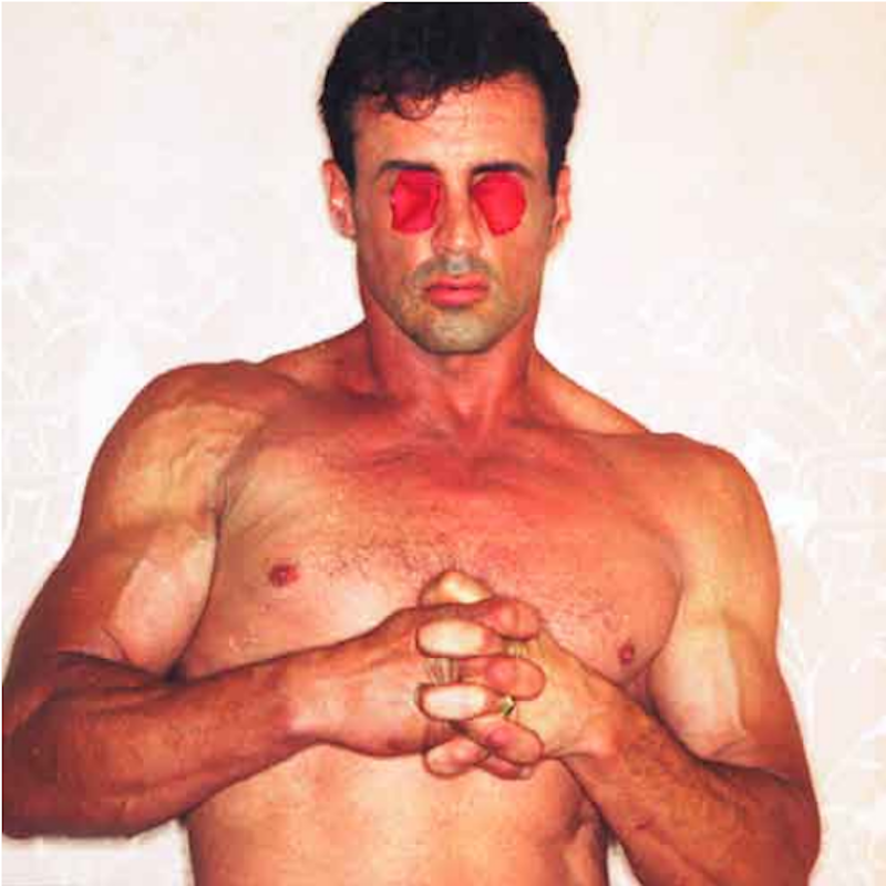 Sylvester Stallone by Michel Comte